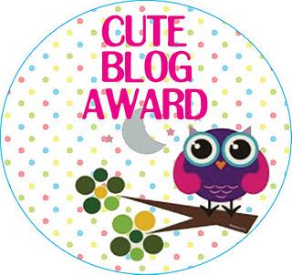 Deeper Dazzle's Cute Blog Award