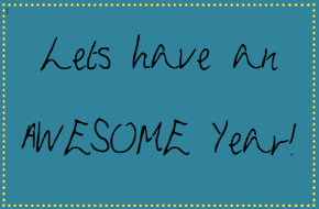 Lets Have an AwesomeYear