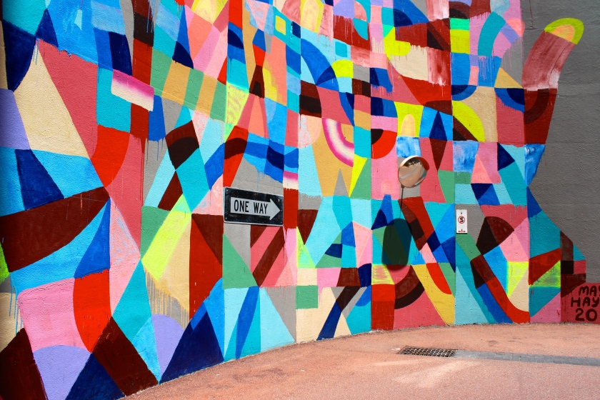 Maya Hayuk mural perth